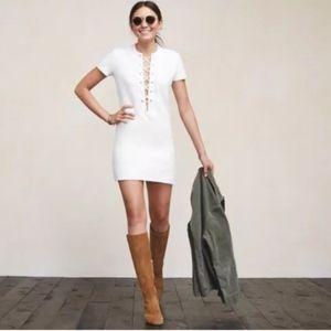 Reformation Lace Up Caroline Mini Dress • Size S